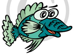 Hawaiian Fish Illustration 1 Clip Art