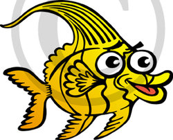 Hawaiian Fish Illustration 3 Clip Art
