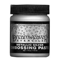 Metallic Silver Embossing Paste
