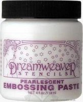 Pearlescent Embossing Paste