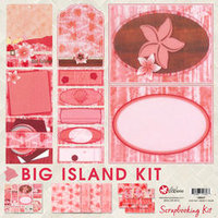 12x12 Big Island Scrapbook Kit