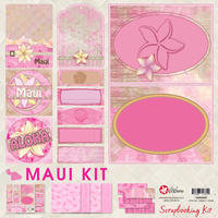 12x12 Maui Scrapbooking Kit