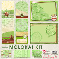 12x12 Molokai Scrapbooking Kit