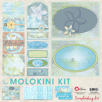 12x12 Molokini Scrapbooking Kit