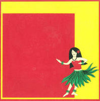 12x12 Large Hula Girl